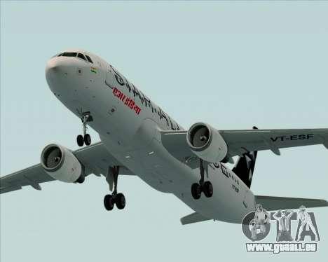 Airbus A320-200 Air India (Star Alliance Livery) pour GTA San Andreas moteur