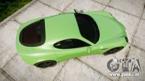 Alfa Romeo 8C Competizione 2008 für GTA 4 rechte Ansicht