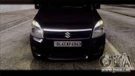 Suzuki Wagon R 2010 für GTA San Andreas rechten Ansicht
