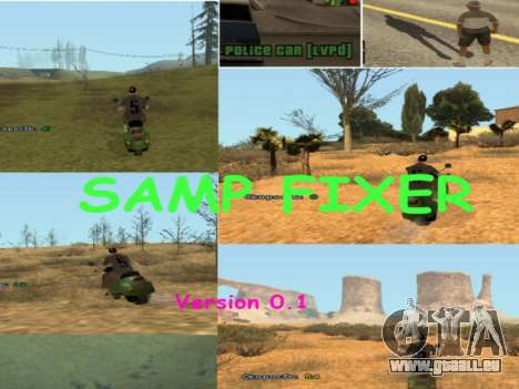 SAMP Fixer pour GTA San Andreas