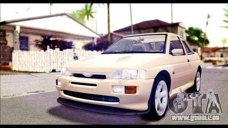 Ford Escort RS Cosworth [HQLM] pour GTA San Andreas
