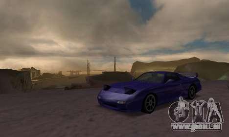 Beta ZR-350 für GTA San Andreas zurück linke Ansicht