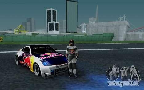 Nissan 350Z Red Bull für GTA San Andreas