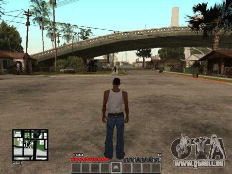 C-Hud Minecraft pour GTA San Andreas