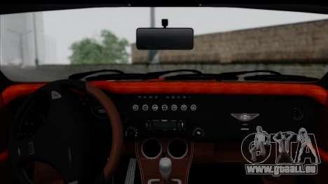 Morgan AeroSS 2013 v1.0 pour GTA San Andreas sur la vue arrière gauche