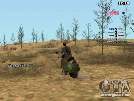 SAMP Fixer pour GTA San Andreas quatrième écran
