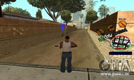 C-HUD La Cosa Nostra für GTA San Andreas her Screenshot