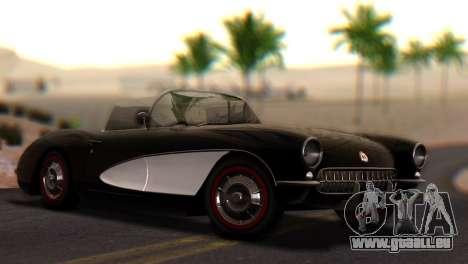 Chevrolet Corvette C1 1962 PJ pour GTA San Andreas