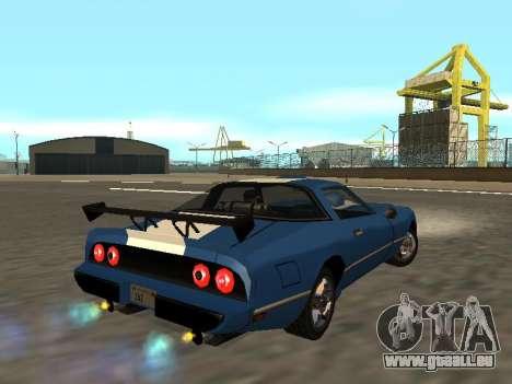 New Phoenix pour GTA San Andreas vue intérieure