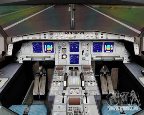 Airbus A340-300 Airbus S A S House Livery für GTA San Andreas Innen