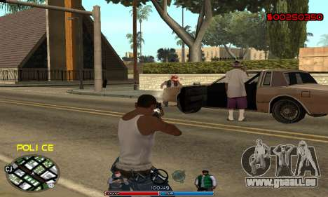C-HUD Police für GTA San Andreas her Screenshot