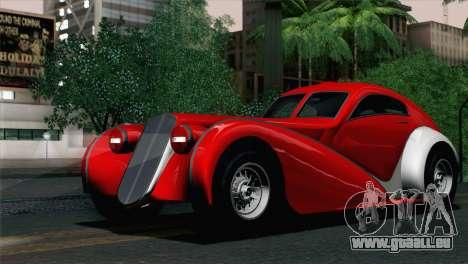 GTA V Truffade Z-Type [IVF] für GTA San Andreas