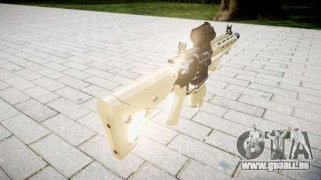 Gewehr AR-15 CQB Ziel aimpoint für GTA 4 Sekunden Bildschirm