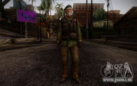 Bill from Left 4 Dead Beta pour GTA San Andreas