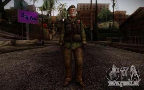 Bill from Left 4 Dead Beta für GTA San Andreas