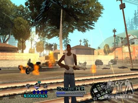 CLEO HUD SWAGG pour GTA San Andreas quatrième écran