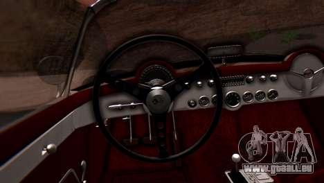 Chevrolet Corvette C1 1962 PJ pour GTA San Andreas vue de droite