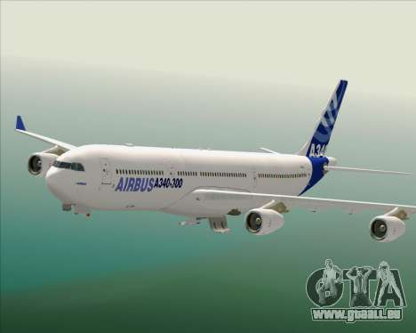 Airbus A340-300 Airbus S A S House Livery für GTA San Andreas