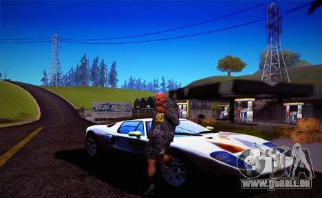 FaFan ENB series pour GTA San Andreas cinquième écran