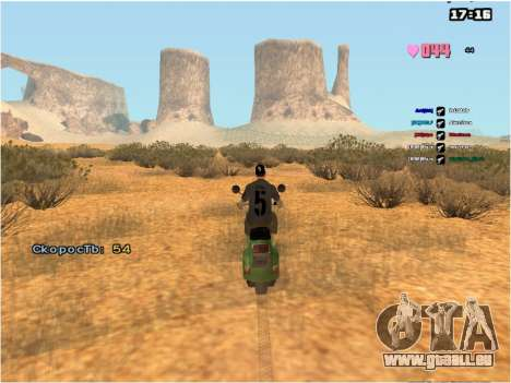 SAMP Fixer pour GTA San Andreas deuxième écran