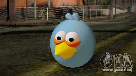 Blue Bird from Angry Birds für GTA San Andreas