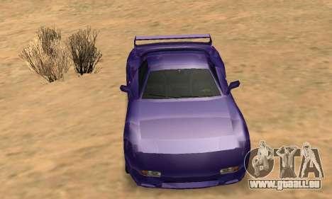 Beta ZR-350 für GTA San Andreas Räder