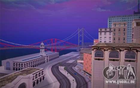 FaFan ENB series pour GTA San Andreas troisième écran