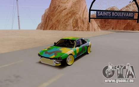 Nissan Silvia S14 Hunter für GTA San Andreas