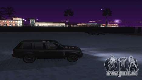 ENB et ColorMod pour les moyennes et faibles PC pour GTA San Andreas cinquième écran