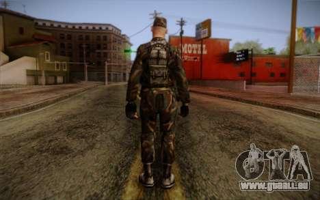Soldier Skin 3 für GTA San Andreas zweiten Screenshot