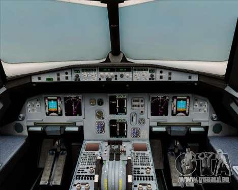 Airbus A320-200 Air India (Star Alliance Livery) pour GTA San Andreas salon