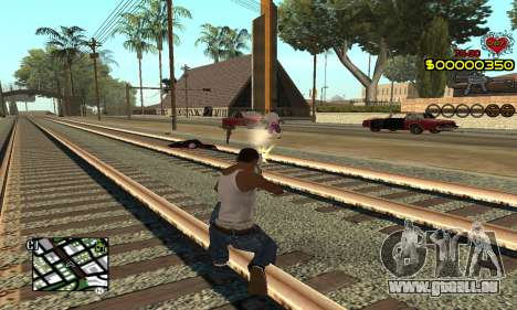 C-HUD By Fernando pour GTA San Andreas deuxième écran