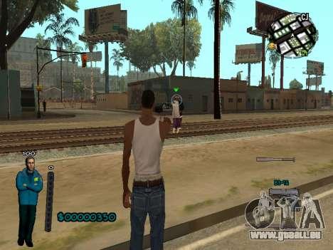 FBI HUD für GTA San Andreas