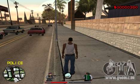 C-HUD Police für GTA San Andreas