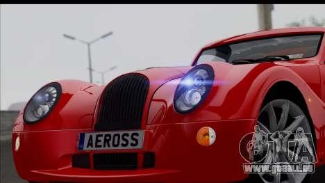 Morgan AeroSS 2013 v1.0 pour GTA San Andreas vue de droite