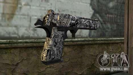 Neuer Gun v2 für GTA San Andreas zweiten Screenshot