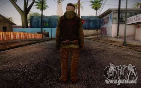 Bill from Left 4 Dead Beta für GTA San Andreas zweiten Screenshot