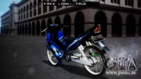 Yamaha Jupiter Z Burhan pour GTA San Andreas laissé vue