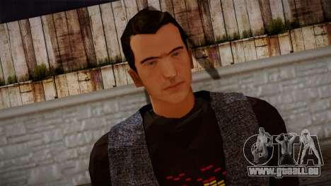 Gedimas Jamal Skin HD pour GTA San Andreas troisième écran