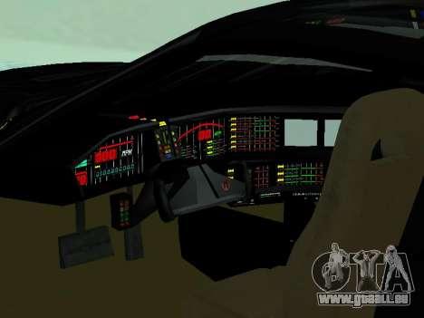 Pontiac Trans-Am K. A. R. R. pour GTA San Andreas vue intérieure