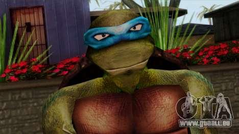 Leo (Tortues Ninja) pour GTA San Andreas troisième écran