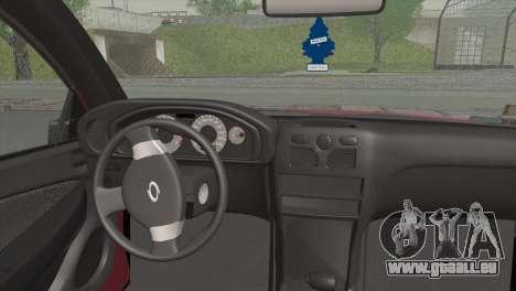 Renault Samsung SM3 2007 für GTA San Andreas zurück linke Ansicht