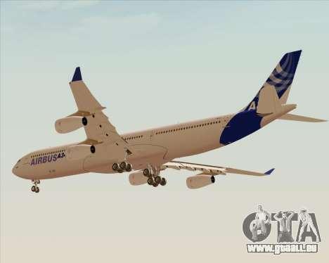 Airbus A340-300 Airbus S A S House Livery für GTA San Andreas Rückansicht