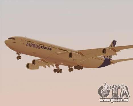 Airbus A340-300 Airbus S A S House Livery pour GTA San Andreas vue de côté