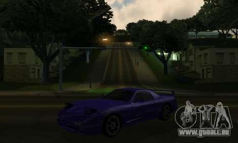 Beta ZR-350 für GTA San Andreas Innenansicht