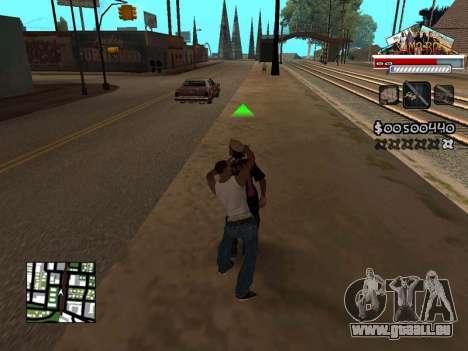 CLEO HUD for SA:MP - RP pour GTA San Andreas troisième écran