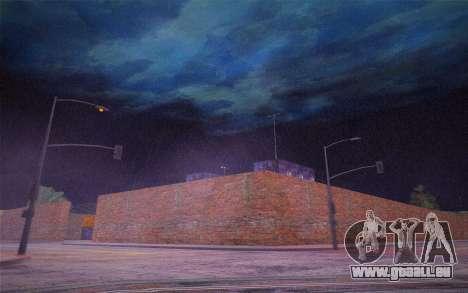 FaFan ENB series pour GTA San Andreas quatrième écran