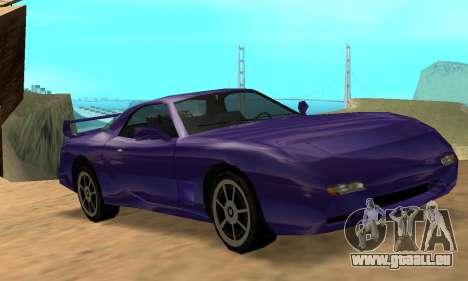 Beta ZR-350 für GTA San Andreas Seitenansicht