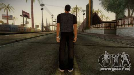 Gedimas Jamal Skin HD pour GTA San Andreas deuxième écran