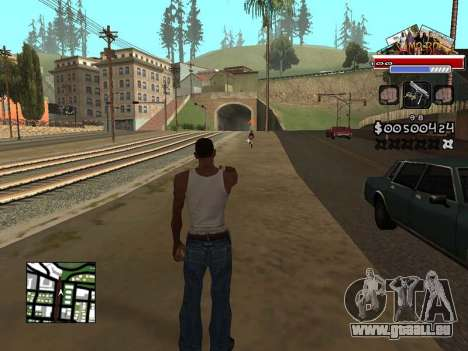 CLEO HUD for SA:MP - RP pour GTA San Andreas